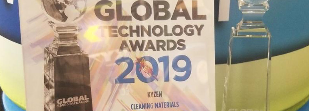 KYZEN A4727 Productronica Award